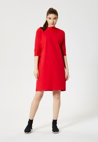 Talence - ROBE - Jersey dress - rouge - 1