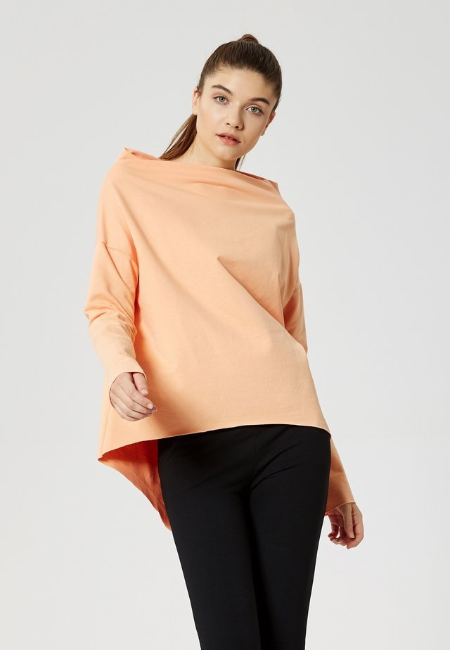 Long sleeved top - abricot