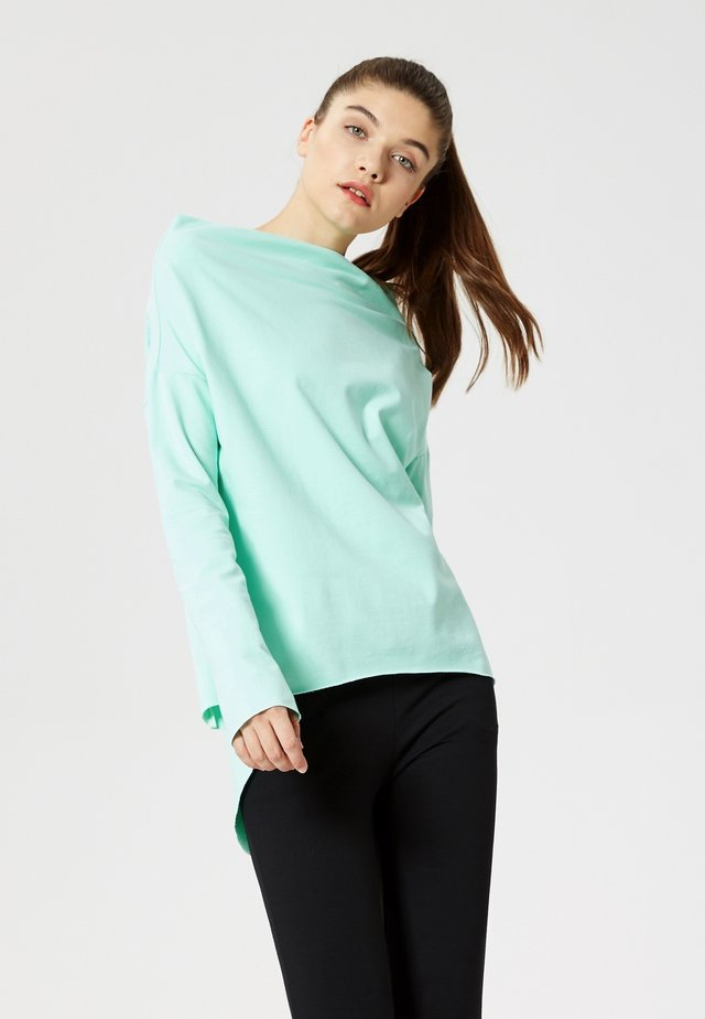 Long sleeved top - menthe