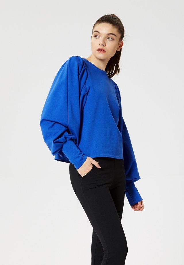Blouse - bleu barbeau
