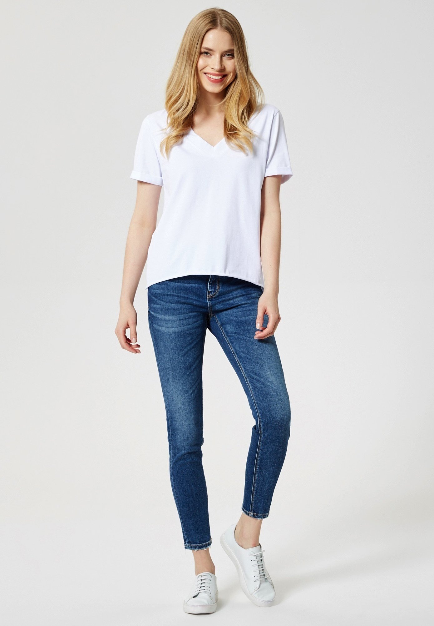 Talence T-shirt Basic - Weiß f7g3d