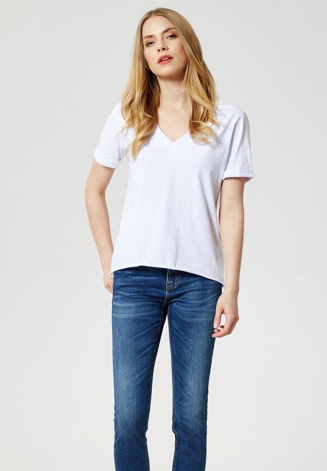 T-shirt basique - weiß