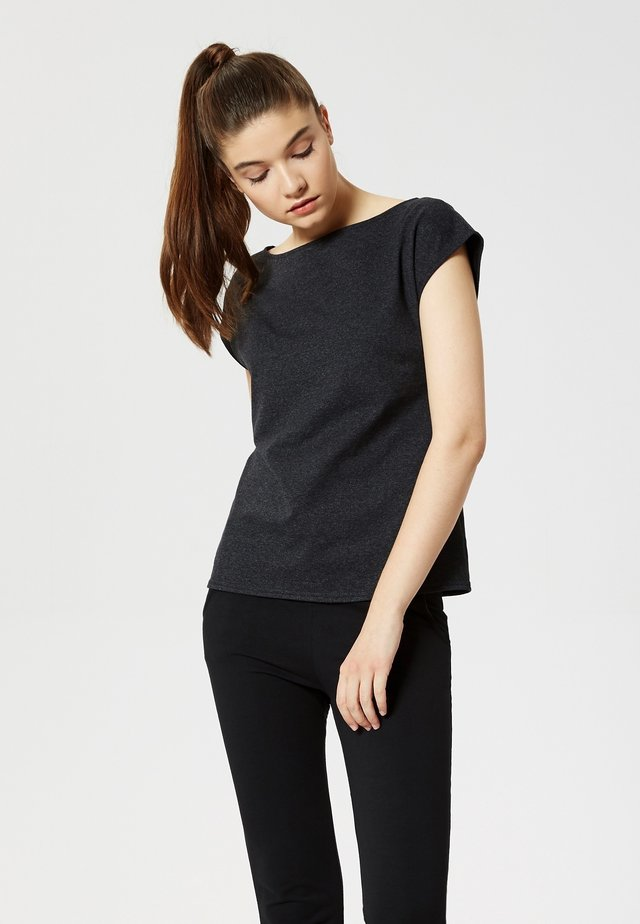 T-shirt basic - graphit melange