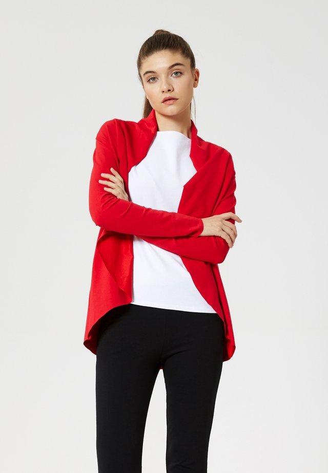 Cardigan - rouge
