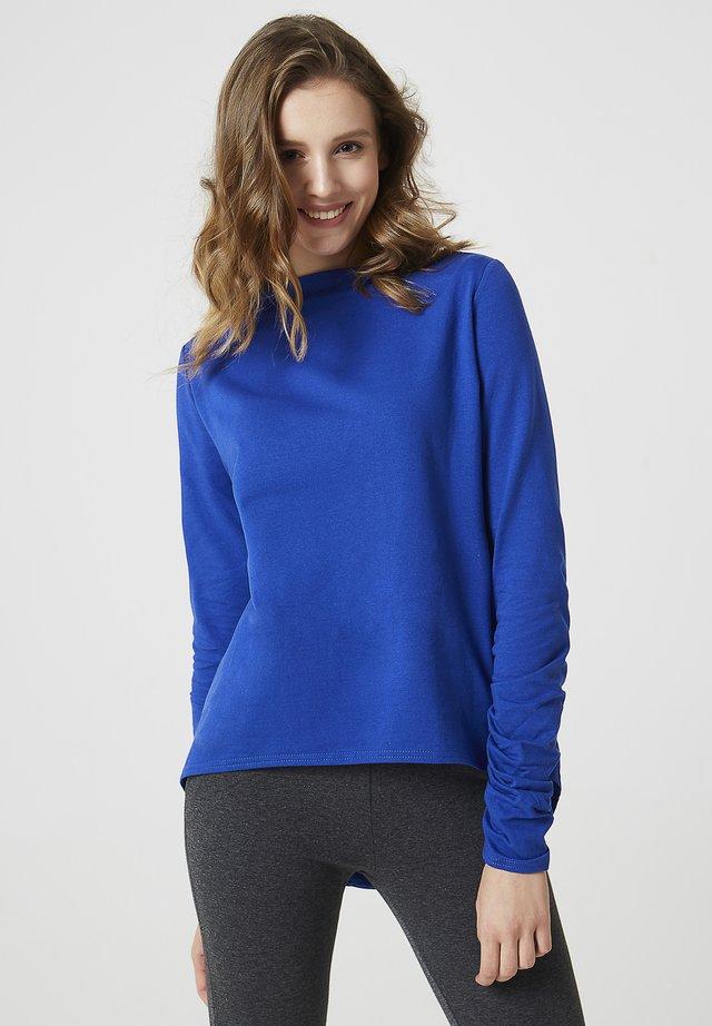 Sweatshirt - kobaltblau