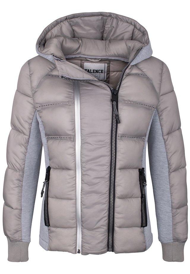 Winter jacket - aschegrau