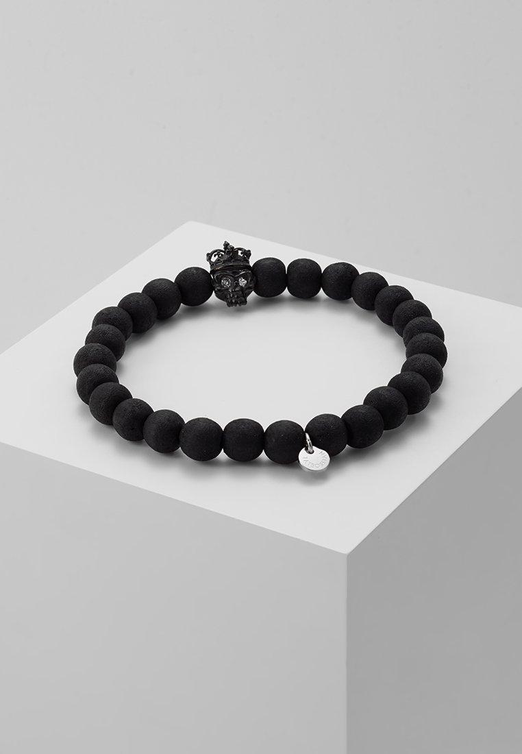 Tateossian - KING SKULL - Armbånd - black