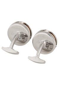 Tateossian - GEAR CARBON  - Manžetové knoflíčky - silver - 2