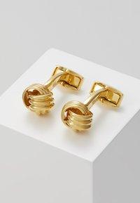 Tateossian - KNOT - Manžetové knoflíčky - gold-coloured - 0