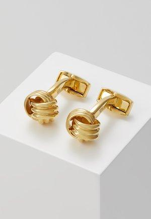 KNOT - Manžetové knoflíčky - gold-coloured