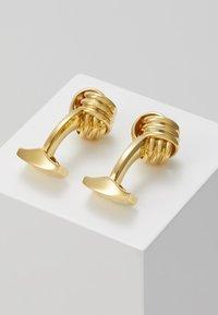 Tateossian - KNOT - Manžetové knoflíčky - gold-coloured - 2