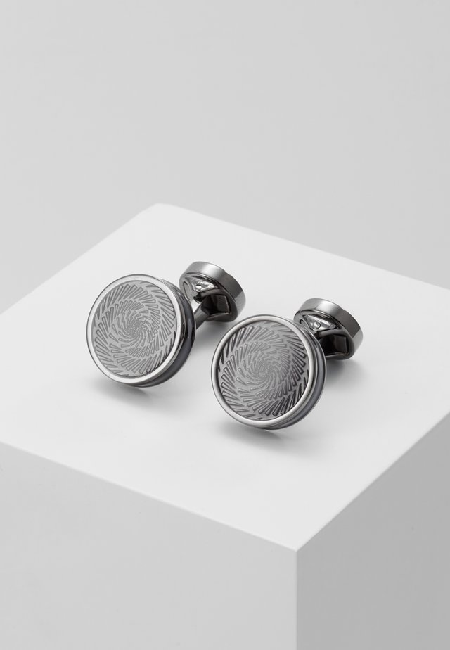 VERTIGO ICE - Cufflinks - gunmetal