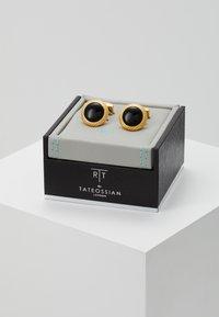 Tateossian - BULLSEYE - Manžetové knoflíčky - yellow gold-coloured - 2