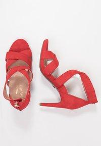 Tamaris Heart & Sole - Korolliset sandaalit - red - 3