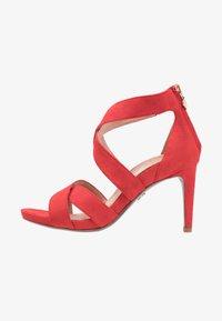 Tamaris Heart & Sole - Korolliset sandaalit - red - 1