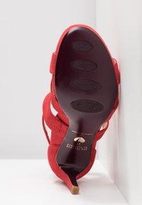 Tamaris Heart & Sole - Korolliset sandaalit - red - 6