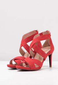 Tamaris Heart & Sole - Korolliset sandaalit - red - 4