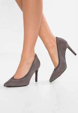 High heels - graphite
