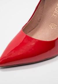 Tamaris Heart & Sole - Korolliset avokkaat - red - 2