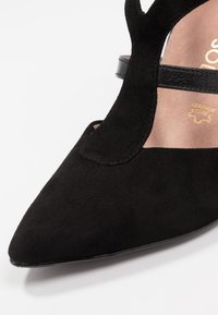 Tamaris Heart & Sole - Korolliset avokkaat - black - 2