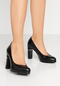 Tamaris Heart & Sole - Korolliset avokkaat - black - 0