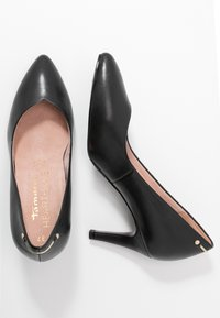 Tamaris Heart & Sole - COURT SHOE - Classic heels - black - 3