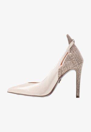 COURT SHOE - High Heel Pumps - champagne