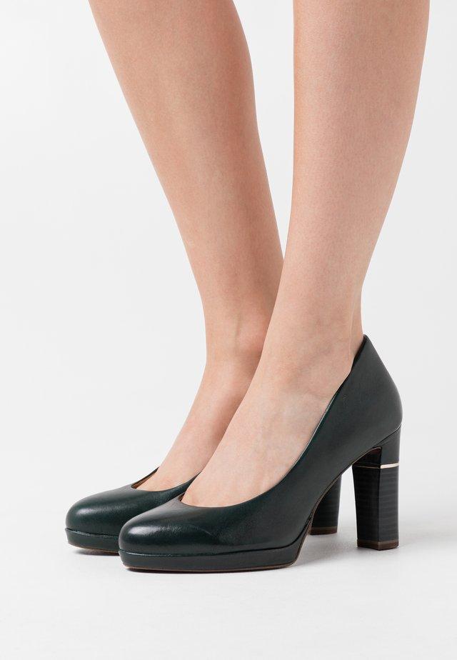 COURT SHOE - High heels - bottle