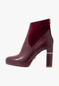 Tamaris Heart & Sole - High heeled ankle boots - bordeaux - 1