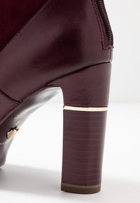 Tamaris Heart & Sole - High heeled ankle boots - bordeaux - 2
