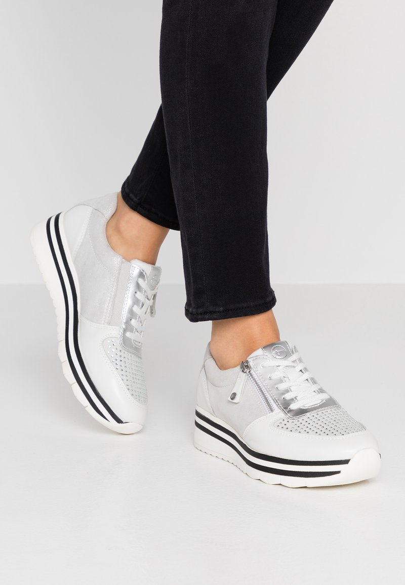Tamaris Pure Relax - Sneakers laag - silver