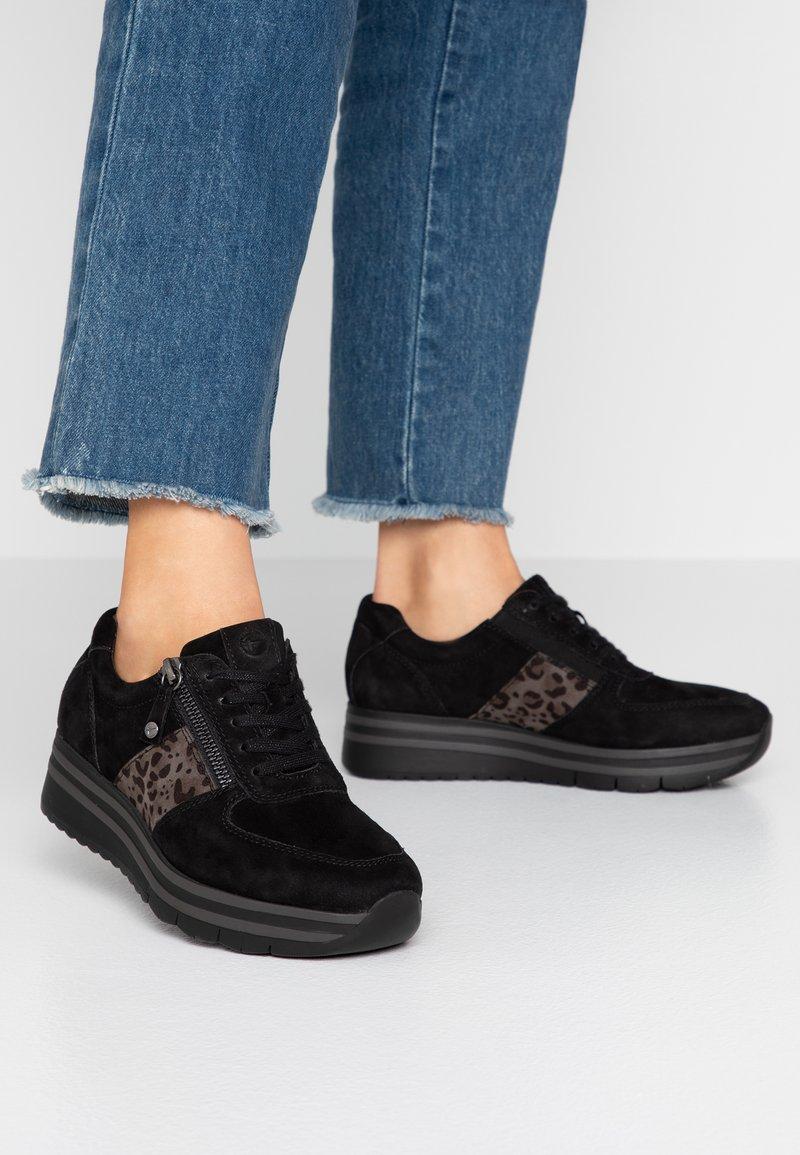 Tamaris Pure Relax - Sneakers laag - black