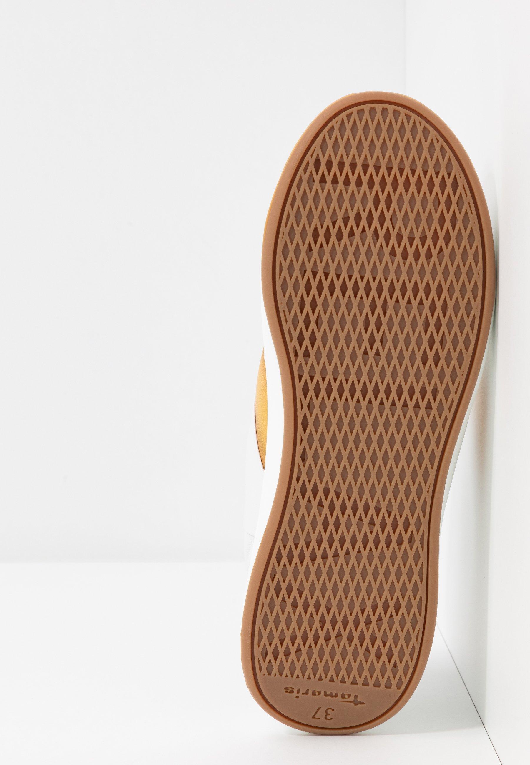 Tamaris Pure Relax Lace-up - Sneakers Basse White/saffron NODnO