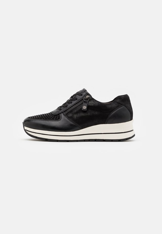LACE UP - Joggesko - black