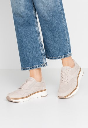 LACE-UP - Baskets basses - beige
