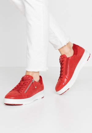 LACE-UP - Sneaker low - chili