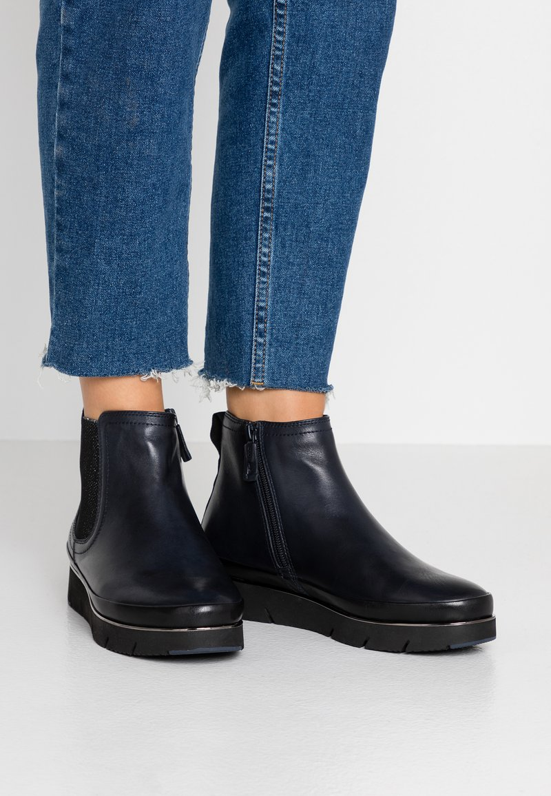 Tamaris Pure Relax - Ankle Boot - navy