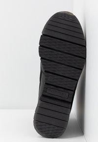 Tamaris Pure Relax - Kotníkové boty na klínu - black - 6