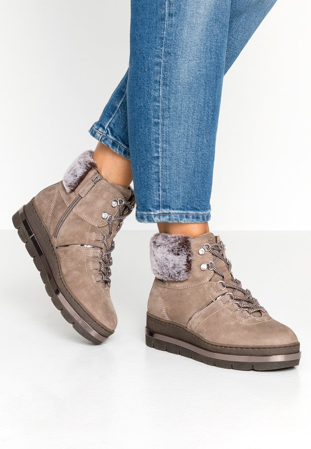 Ankelboots - taupe