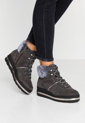 Kotníková obuv - anthracite