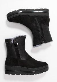 Tamaris Pure Relax - Platform ankle boots - black - 3