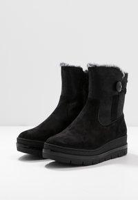 Tamaris Pure Relax - Platform ankle boots - black - 4