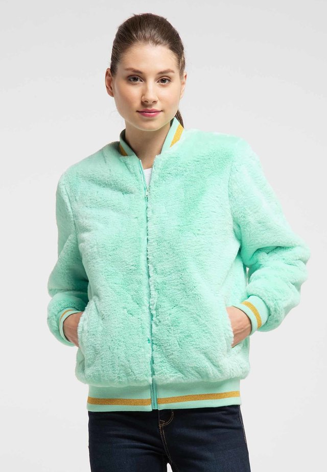 Zimní bunda - mint