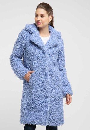 MANTEL - Winter coat - light blue
