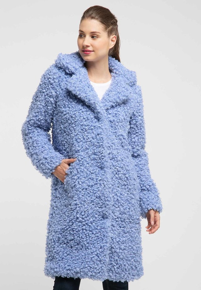 MANTEL - Winter coat - light blue
