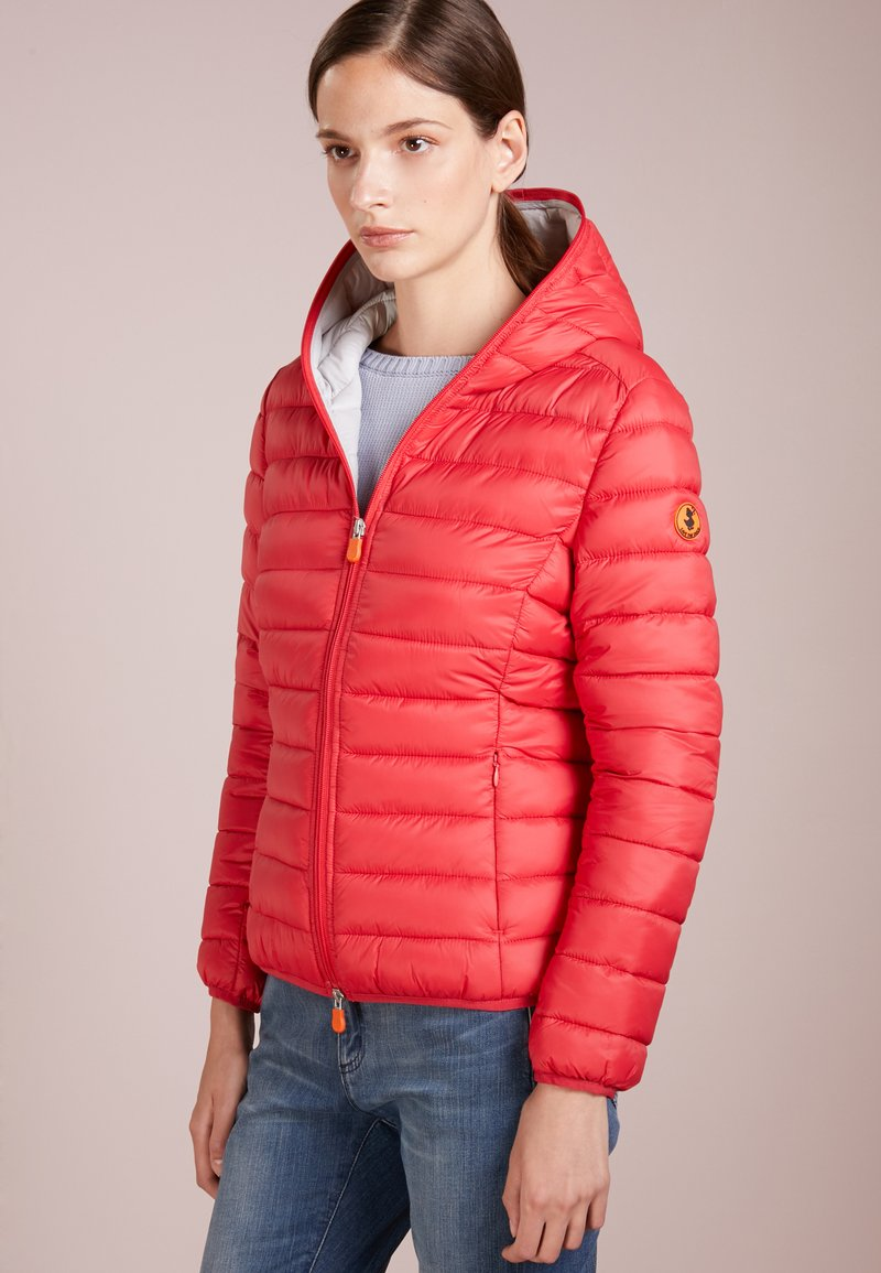 Save the duck - GIGA - Winter jacket - cranberry red