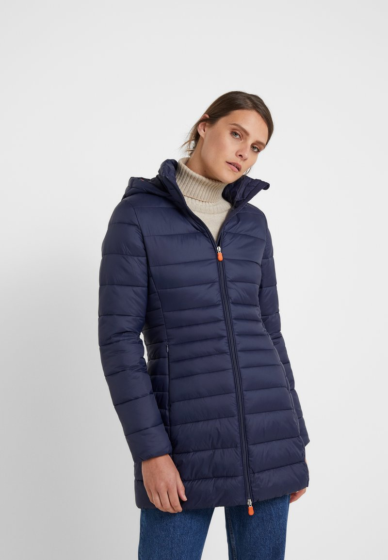 Save the duck - GIGA - Winter coat - navy black