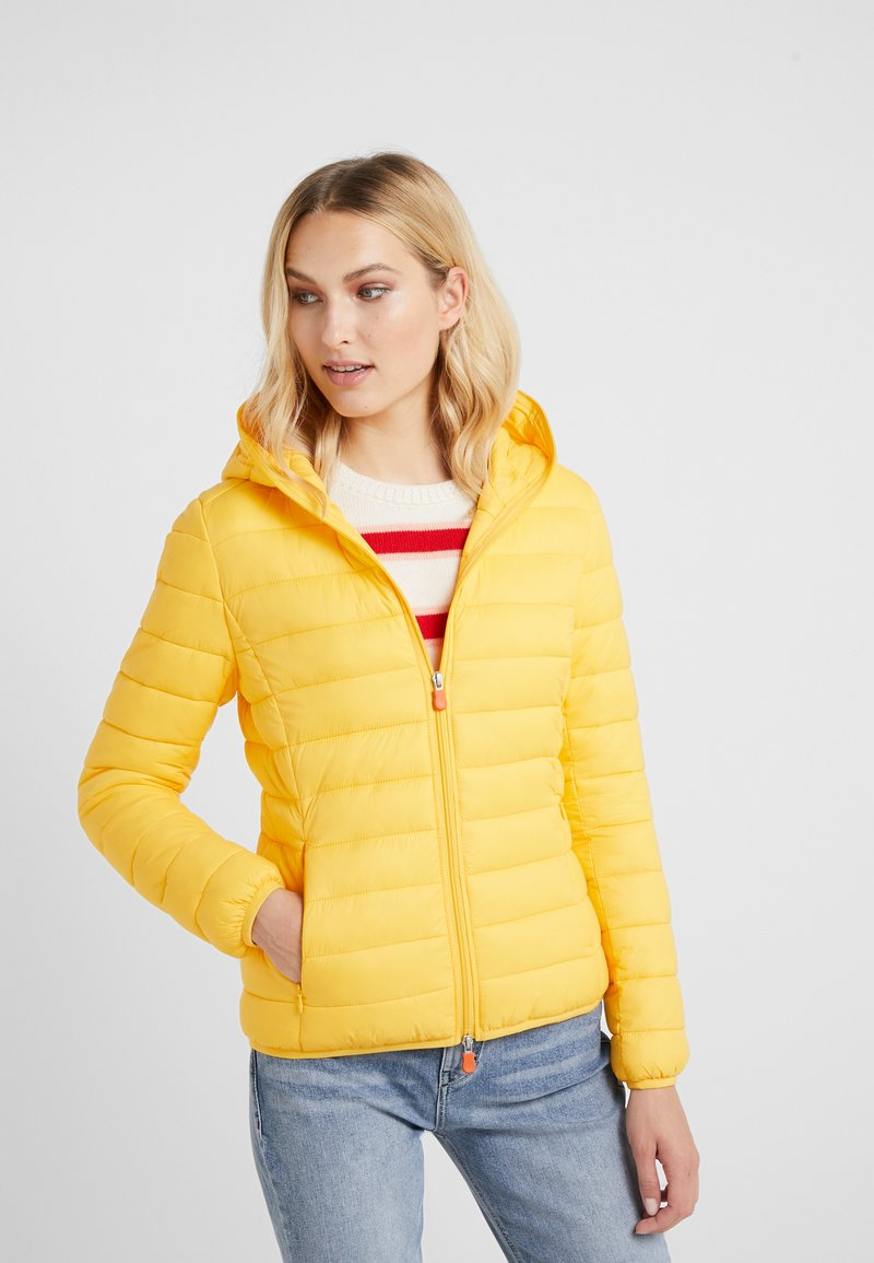 Save the duck - GIGA - Winter jacket - chrome yellow