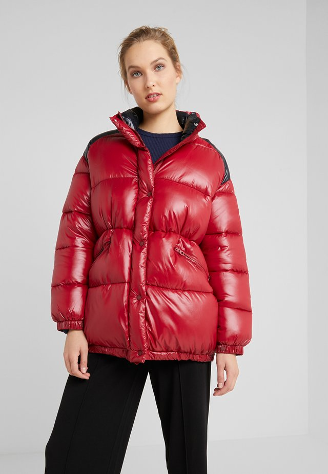 LUCK - Winter jacket - mineral red