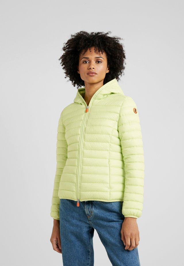 GIGAX - Winter jacket - lime green